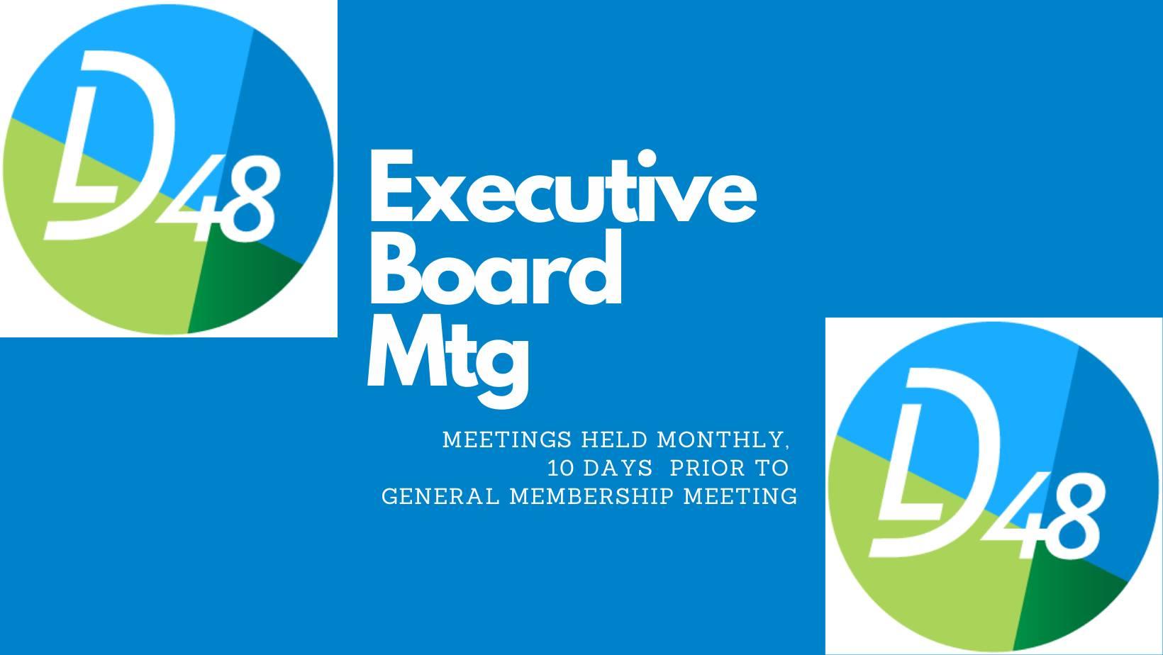 Eboard Meeting